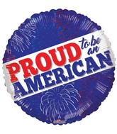 "18"" Proud To Be An American Balloon"