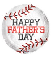 "18"" Father's Day Base Ball Balloon"