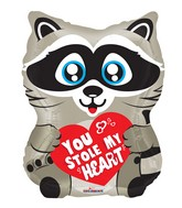 "18"" Love Raccoon Shape Foil Balloon"
