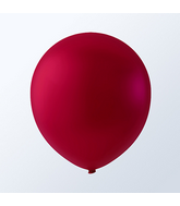 "5"" Burgundy Latex Balloons (144 Per Bag)"