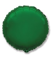 "32"" Jumbo Metallic Green Circle"