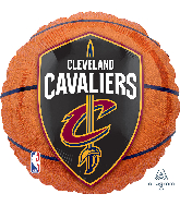 "18"" Cleveland Cavaliers Basketball Foil Balloon"