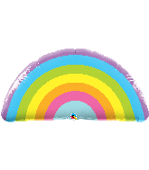 "36"" Radiant Rainbow Foil Balloon"