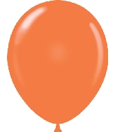 "17"" Standard Orange Tuf Tex Latex Balloons 50 Per Bag"
