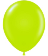 "17"" Pastel Lime Green Tuf Tex Latex Balloons 50 Per Bag"