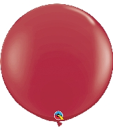 "36"" Qualatex Latex Balloons (2 Pack)  Maroon"