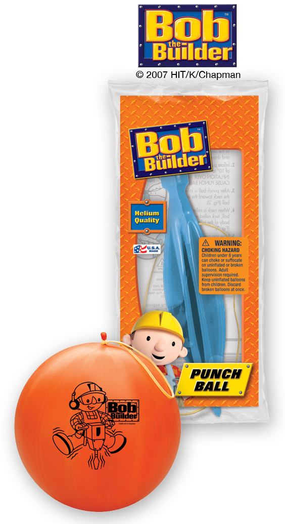 "14"" Bob the Builder 1 ct. Punch Ball"