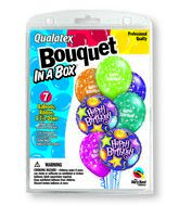 7 Balloons  Birthday Party Bouquet