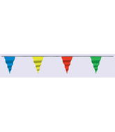 "6"" X 100F Pennant Asst. Colors (5.5' to 8' cloudbuster only)"