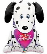 "31"" Puppy For Your Birthday Jumbo Mylar Balloon"