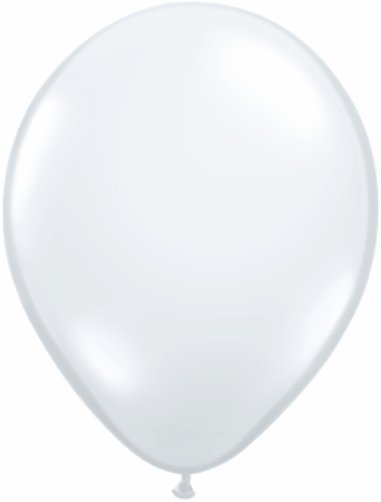 "16""  Qualatex Latex Balloons  DIAMOND CLEAR   50CT"