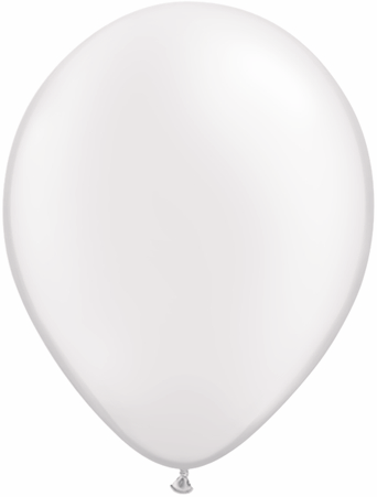 "16""  Qualatex Latex Balloons  Pearl WHITE       50CT"