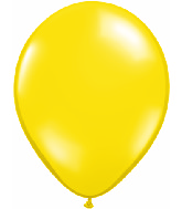 "16""  Qualatex Latex Balloons  CITRON YELLOW     50CT"