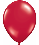 "16""  Qualatex Latex Balloons  RUBY RED        50CT"