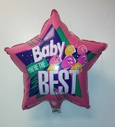 "18"" Baby You're The Best Mylar Balloon (Slightly Damaged)"