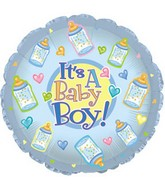 "18"" It's a Baby Boy Bottles"