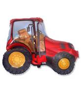 "31"" Red Tractor Shape"