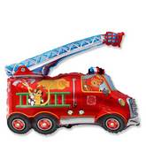 "31"" Fire Truck Balloon"
