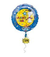 "28"" Celebrate Grad Singing Balloon"