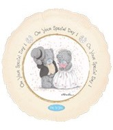 "18"" On Your Special Day Bears (Slight Damage Print)"
