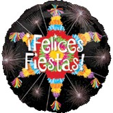 "18"" Felices Fiesta Pinata Balloon"