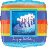 "18"" Shape Photographic Cake Birthday"