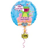 "28"" Go Wild Singing Balloons"