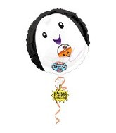 "28""  Singing Trick Or Treat Ghost Balloon"