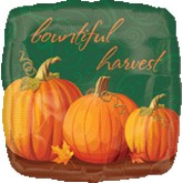 "18"" Autumn Bountiful Harvest Balloon"