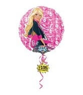 "28"" Sing-A-Tune Barbie Rocks Balloon (does not sing)"