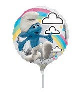 "9"" Mini Balloon (Airfill Only) Movie Smurfs"