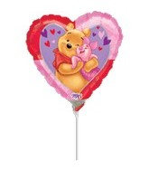 "9"" Mini Balloon (Airfill Only) Big Winne the Pooh"