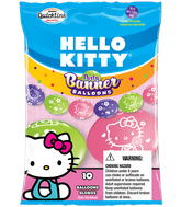 Party Banner Balloons 10 Count Hello Kitty